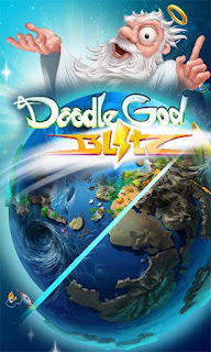 Screenshots of the Doodle god blitz for Android tablet, phone.