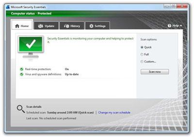lightweight antivirus for windows xp
