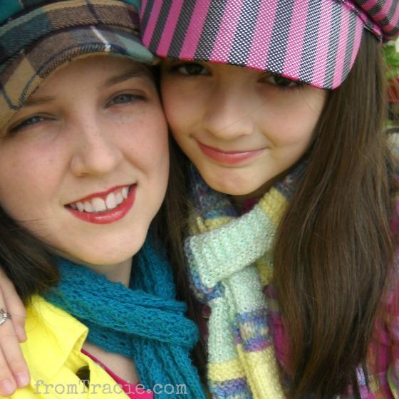 Tracie and Katarina Rainbow