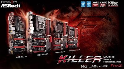 ASRock Mengenalkan 4 Motherboard Gaming Killer Series