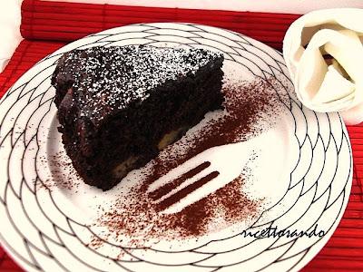 Torta pere e cioccolato ricetta dolce