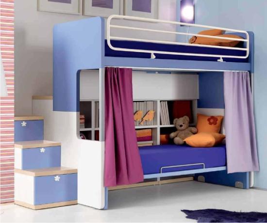 Camerette blog news sull 39 arredamento per bambini - Cameretta letto castello ...