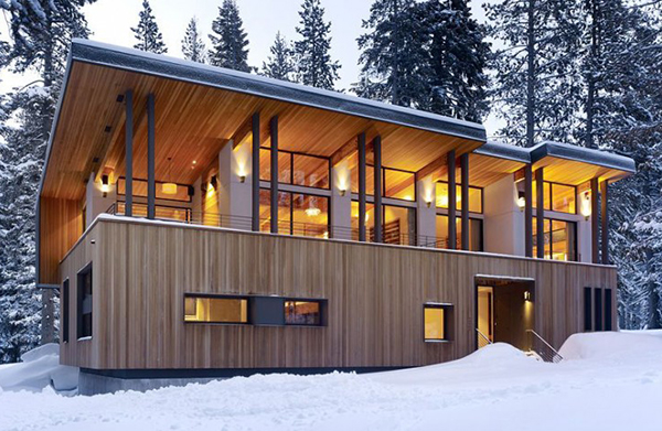 Home design mountain dream cabin by john maniscalco architecture - Mountain house plans dreamy holiday homes ...