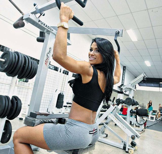 Para ficar com o corpo em forma, Marissol Dias malha três vezes por semana