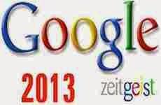 Google Zeitgeist 2013: lo más buscado en Google durante éste año