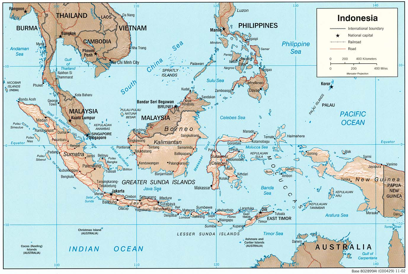 peta indonesia indonesian map