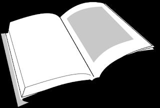 Imágenes de libros abiertos para colorear 3