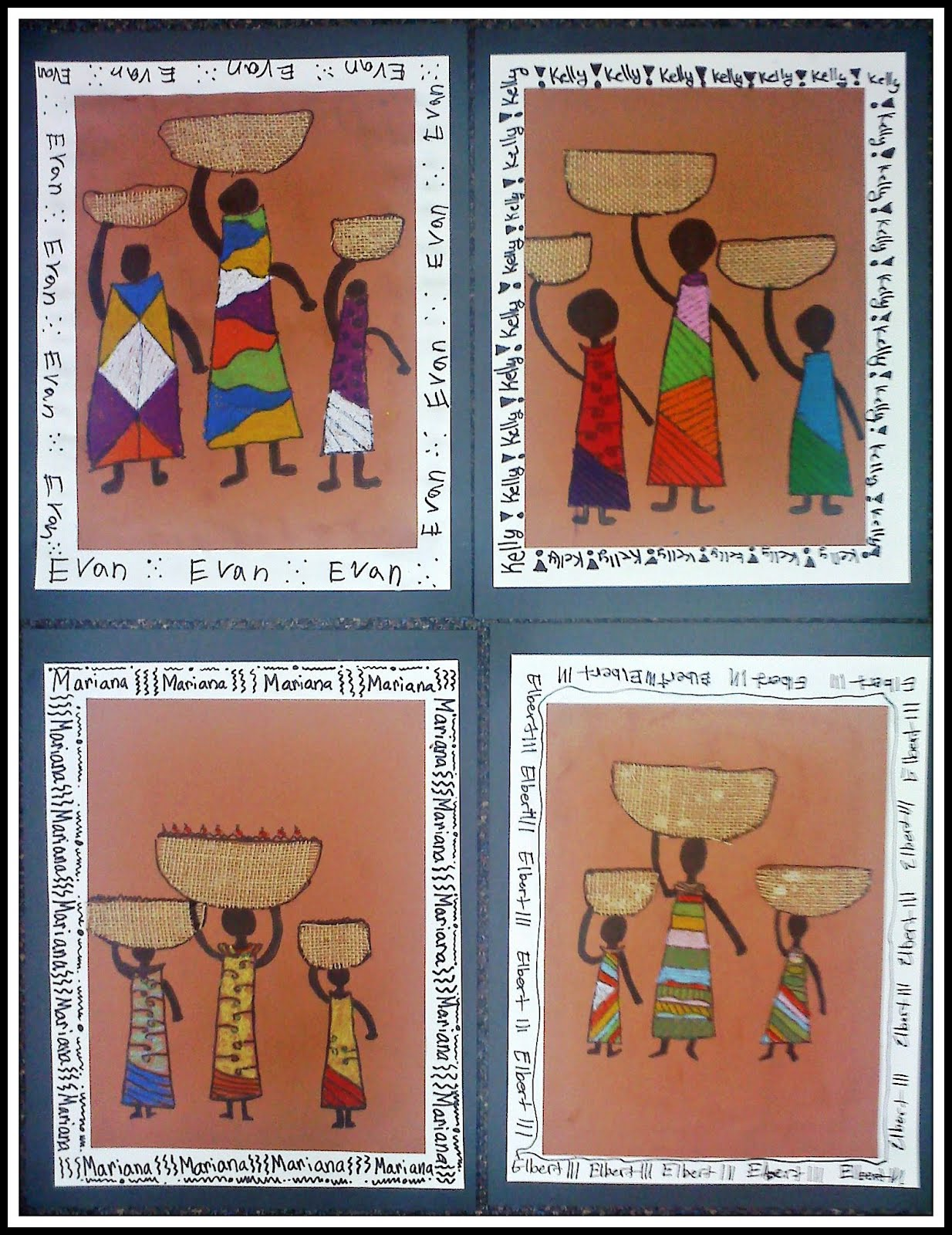 Plateau art studio african line art for African arts and crafts history