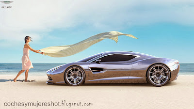 Model-Girls-aston-martin-car-hd-wallpaper-concept-image-luxury-silver