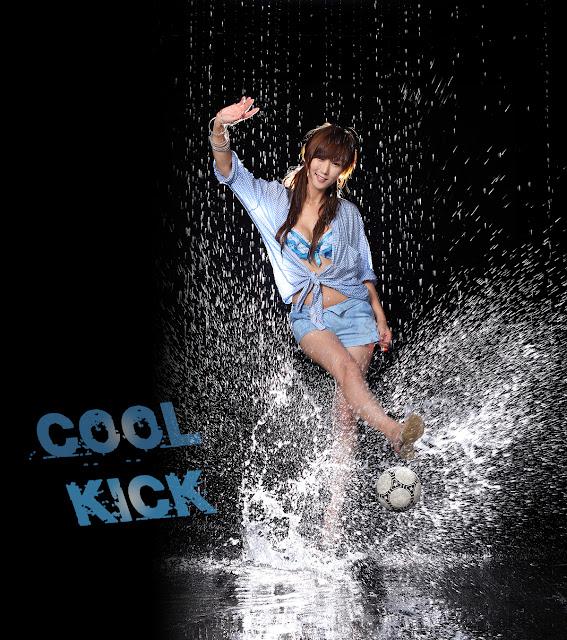 5 Nam Eun Ju in Blue-Very cute asian girl - girlcute4u.blogspot.com