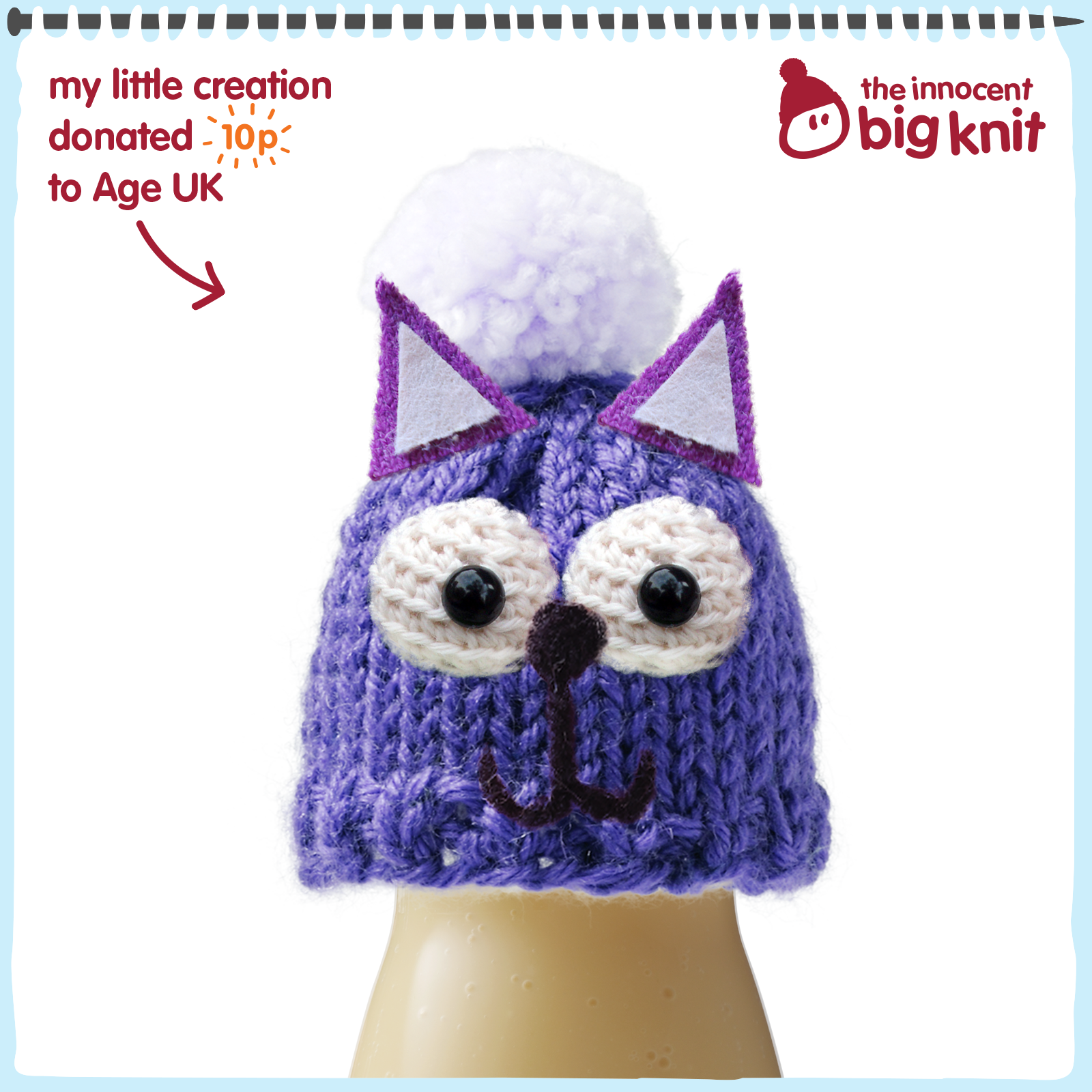 The laughing owls knitting fridays the big knit this project has been really well thought out with 12 patterns available for either knitting or crochet for a range of abilities i decided on the doddle bankloansurffo Image collections
