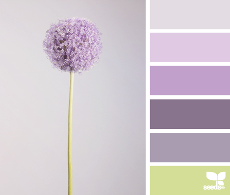 Elegant abode color inspiration purple green - What colors go with purple ...
