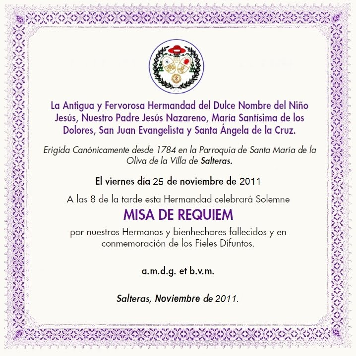 Invitaciones A Misas | apexwallpapers.com