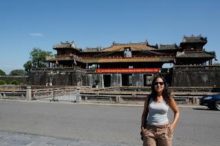 Palacio imperial en Hue, Vietnam.