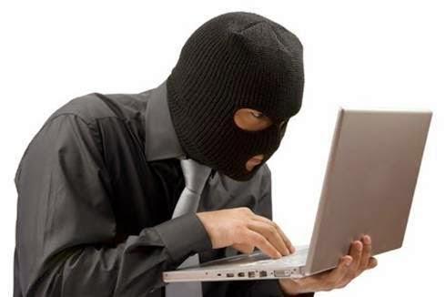 roubo por email