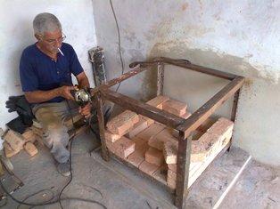 Construcción de un horno cerámico. Rossana A, Oliva Reinés