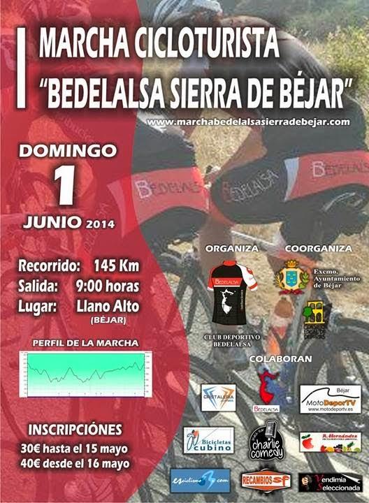 1/Junio. I Marcha Bedelalsa Sierra de Béjar. Béjar