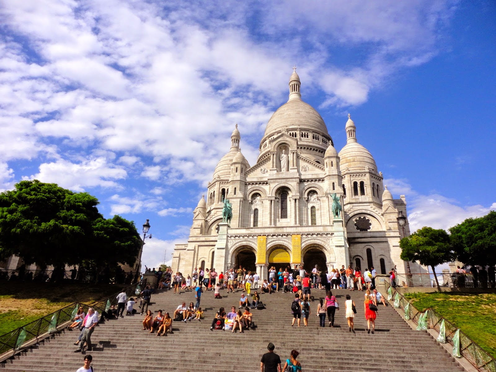 Sacre Coeur in Montmartre, Paris