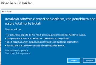 ultima insider build windows 10