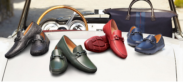 Driving shoes Salvatore Ferragamo