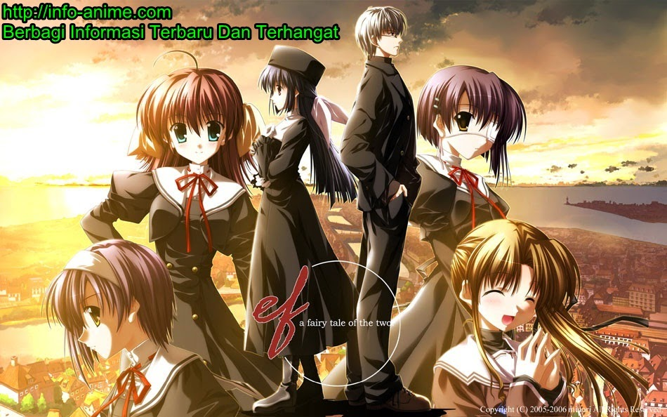 [ Info-Anime ] Manga Ef A Fairy Tale Of The Two Akan Tamat Bulan Ini