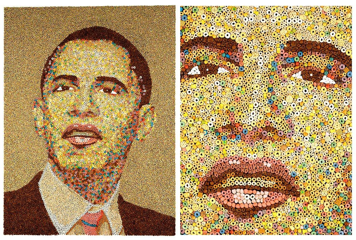 Мозаика портретов своими руками