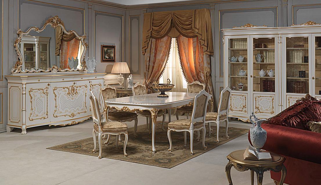 Dise o e interiores de comedores cl sicos beige ideas for Cortinas para comedor clasico