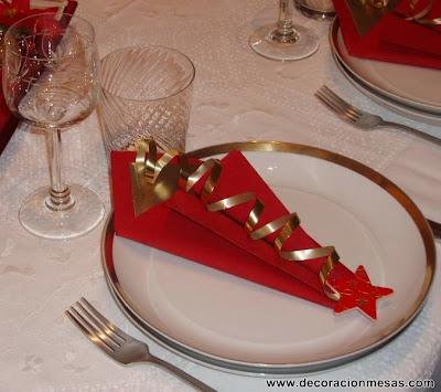 Decoracion mesa Navidad Servilletero 7