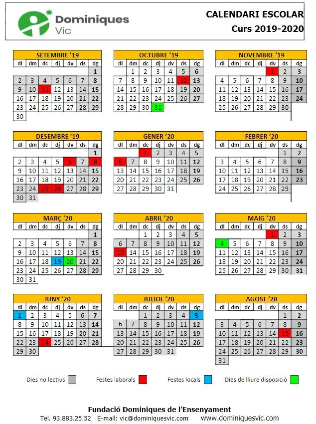 Calendari 19-20