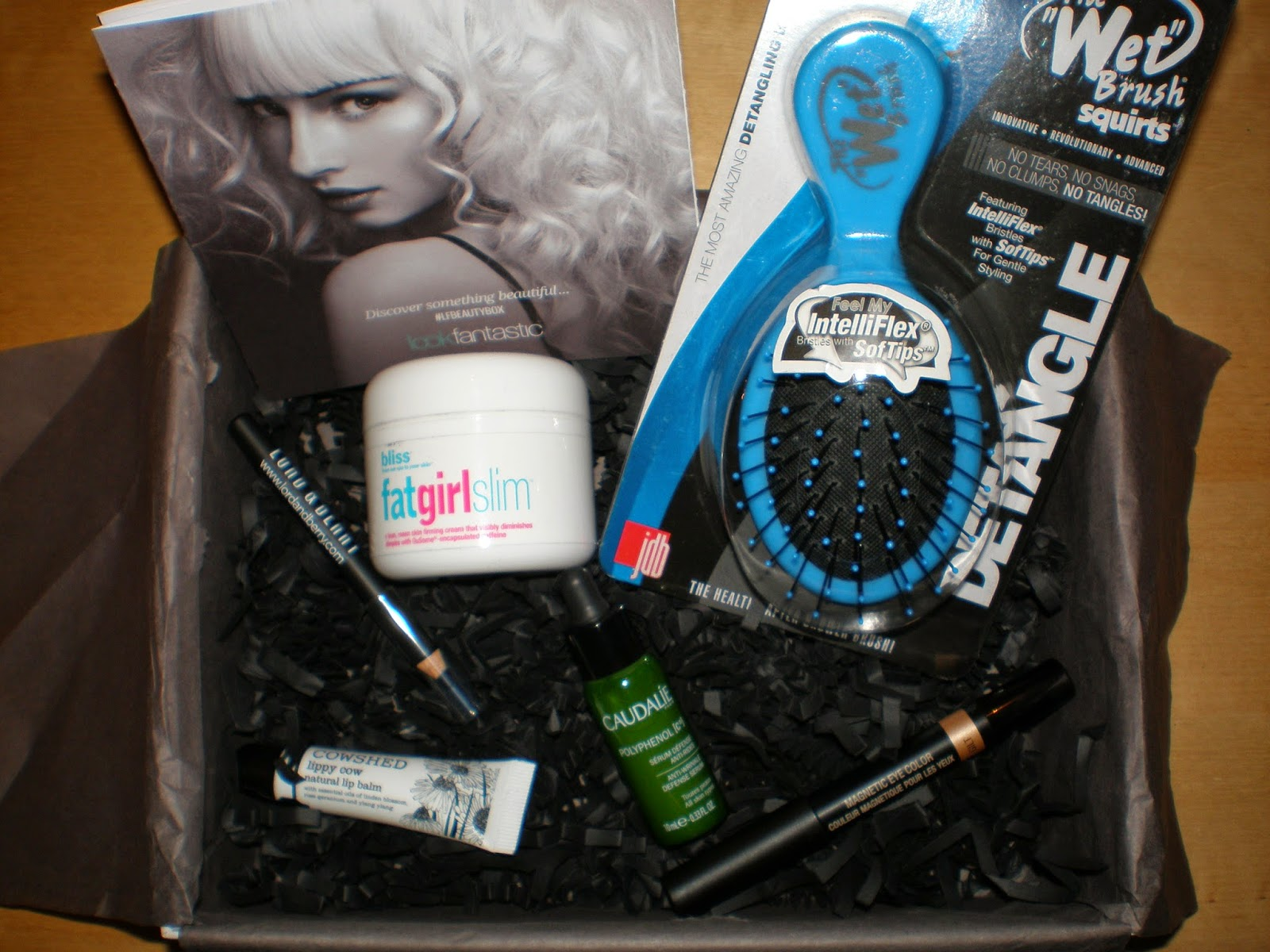 Unboxing Lookfantastic box - March 2015