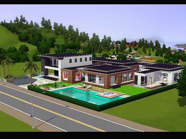 Koalafolio sims3 House : [LIVING DESIGN] COLOR HOUSE THE SIMS 3