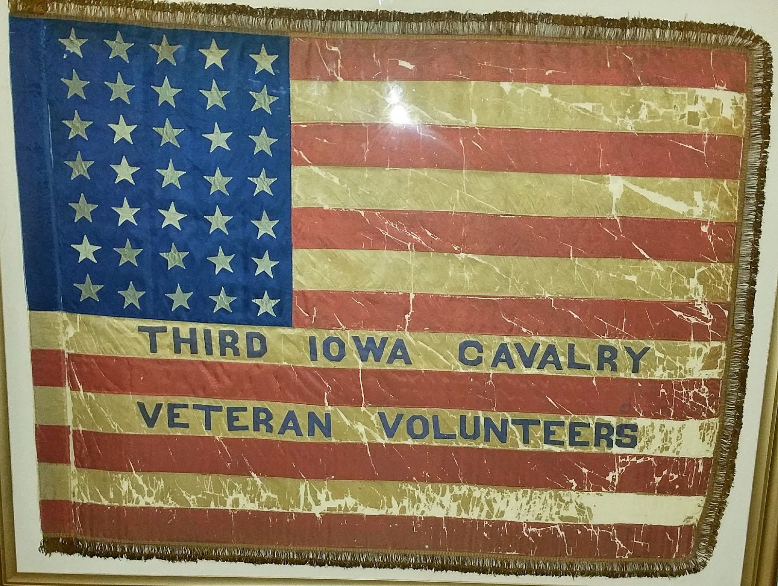 Image result for 3rd iowa cavalry battle flags