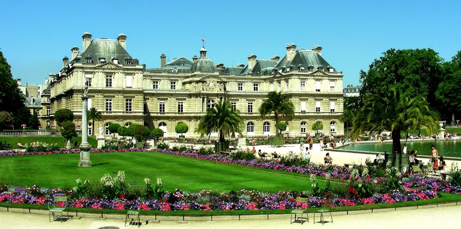 Jardim de Luxemburgo em Paris