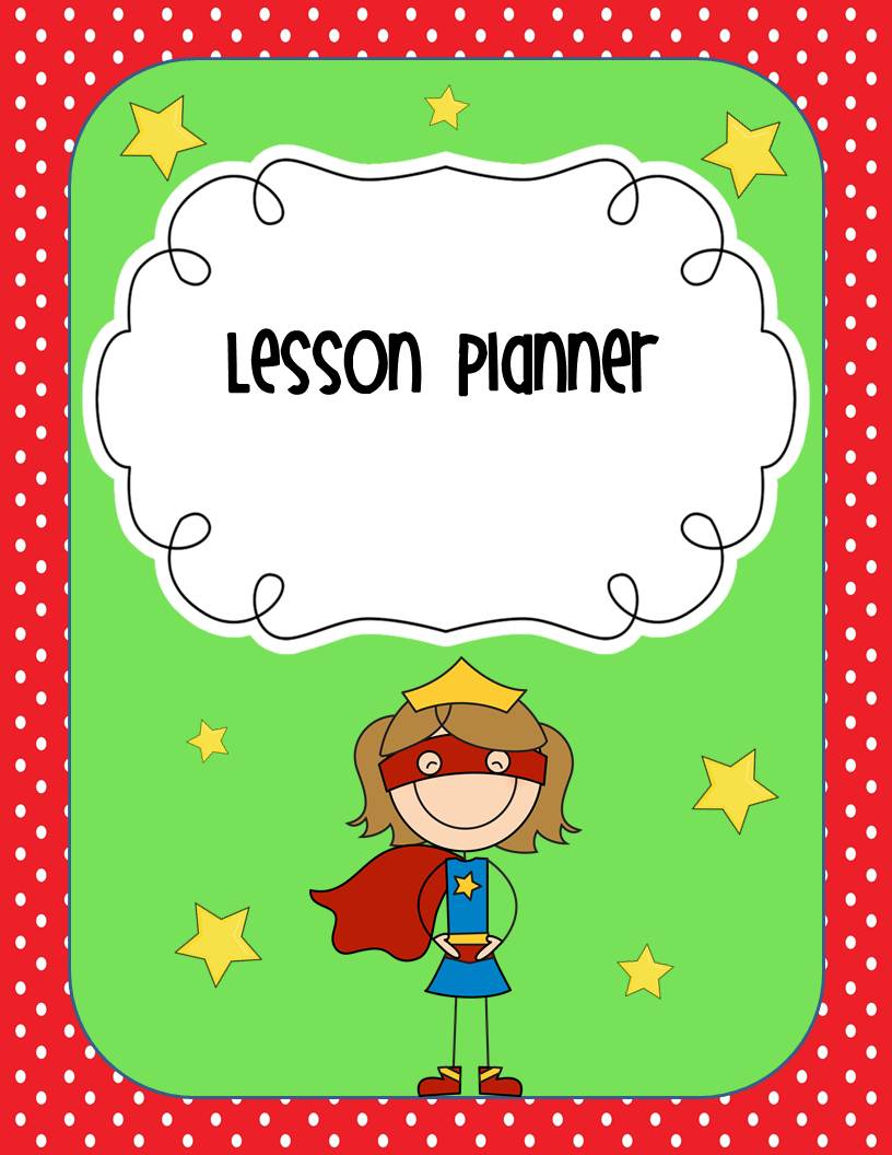 Lesson Plan Book Cover Template : Teach it today classroom theme inspiration linky