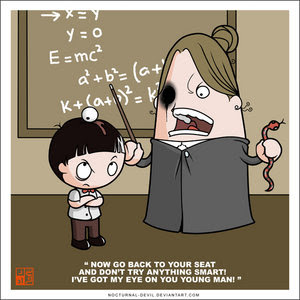 Teacher And Student Cartoon http://schoolash.blogspot.com/2012/07/teacher-cartoon.html