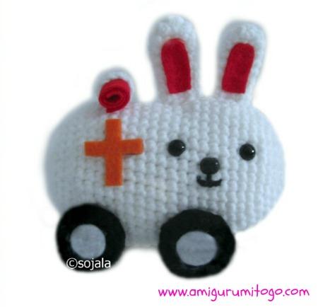 Kawaii Bunny Free Crochet Pattern ~ Amigurumi To Go