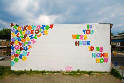 Philadelphia murals, west philly love letters, west philly murals, love letters to west philly, steve powers, espo love letter murals