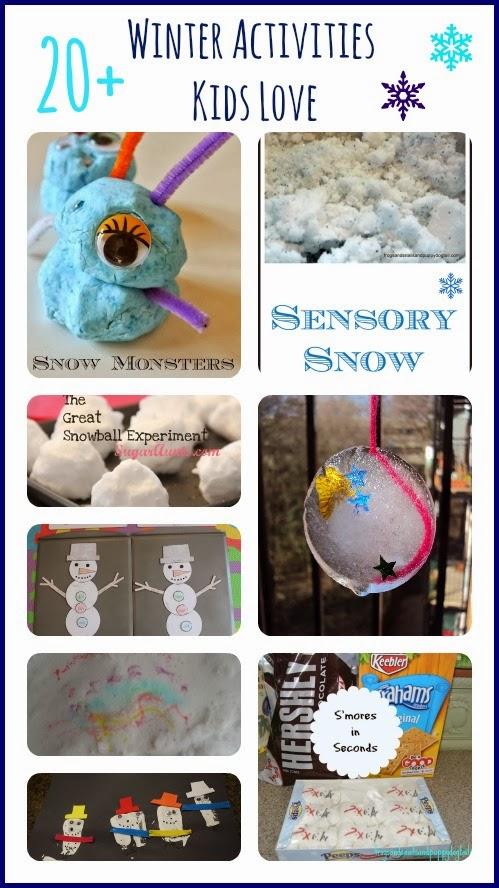 20+ Winter Activities Kids Love by FSPDT