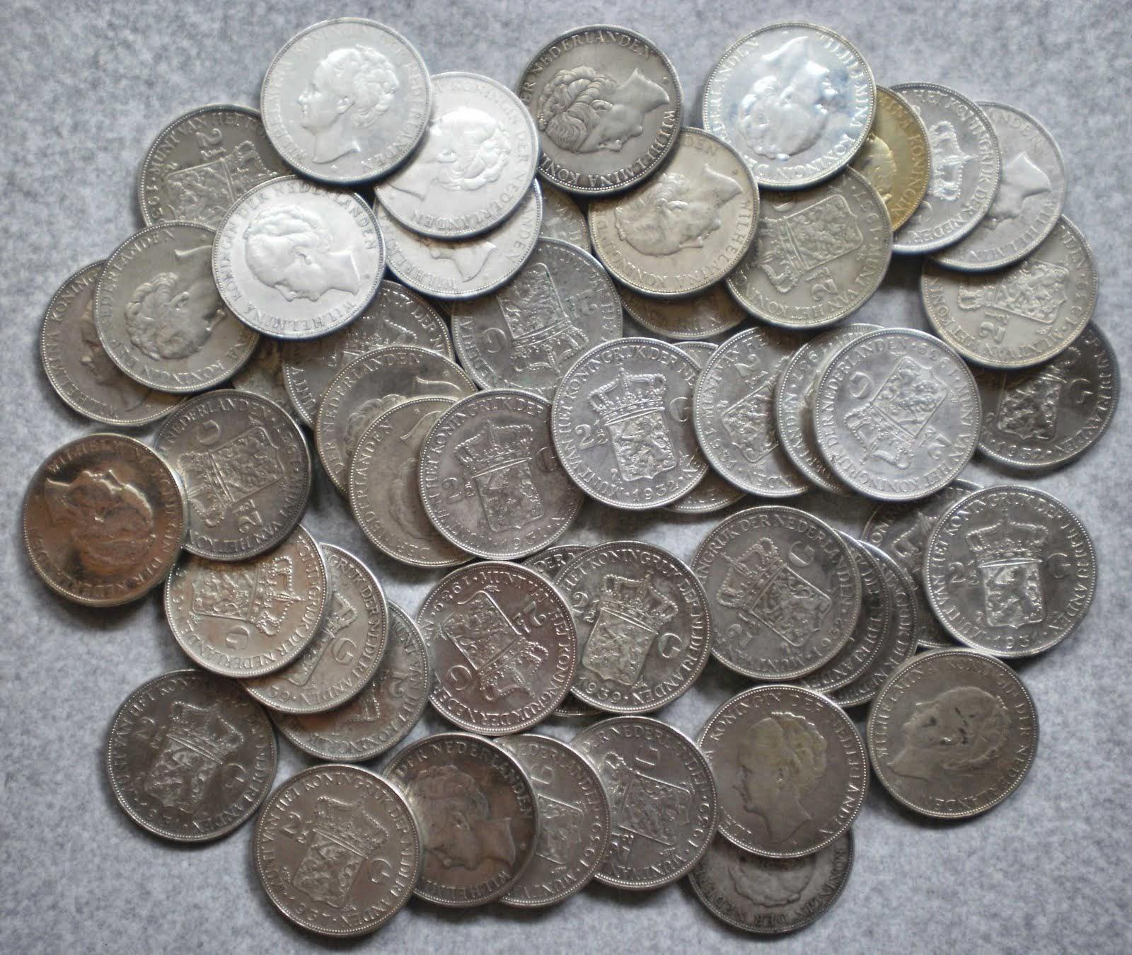 Uang koin 2,5G WILHELMINA