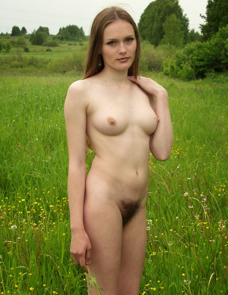 Hairy nudist young amateur