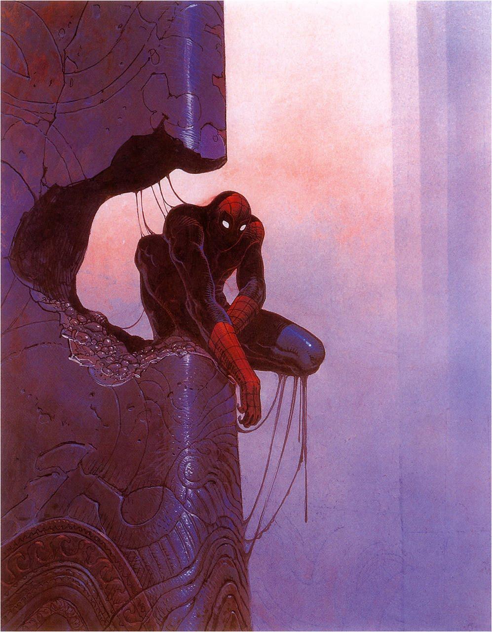 Galería de arte: Solo calidad 000moebius_+spider-man_+001