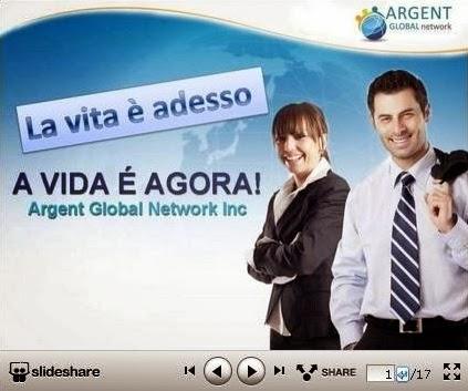 come funziona argent global network - presentazione in italiano