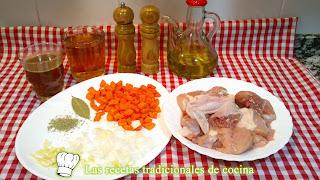 ingredientes del pollo a la cerveza