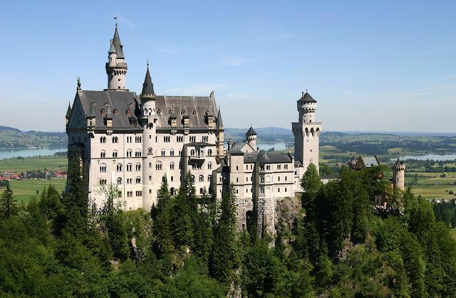 O imponente Neuschwanstein