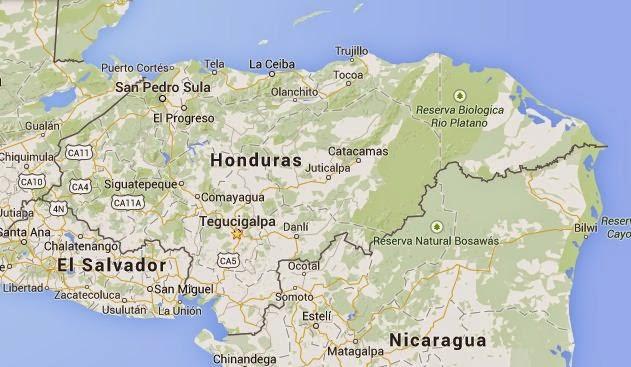 mapa-satelital-de-honduras