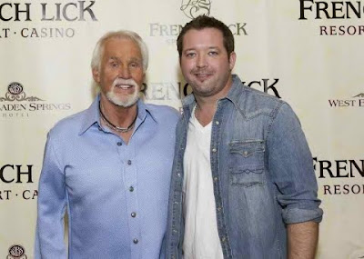 Photo Release: Jason Sturgeon Meets His Musical Hero Kenny Rogers
