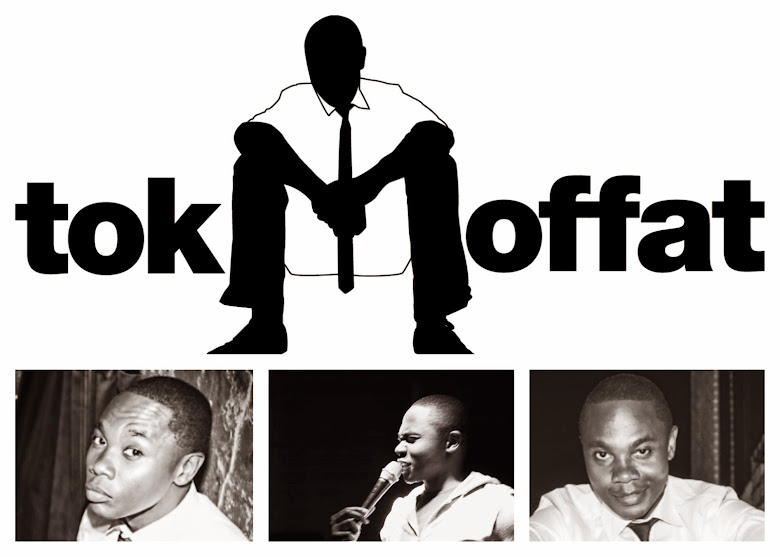 Tok Moffat. Comedian.