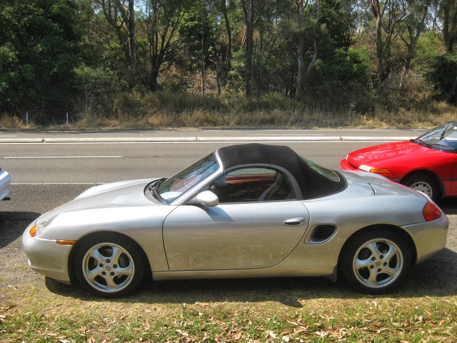 Aussie Old Parked Cars 1997 Porsche Boxster