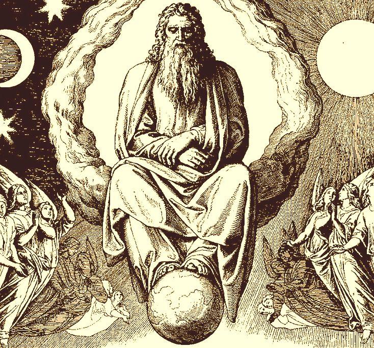 Creation of Sun and Moon