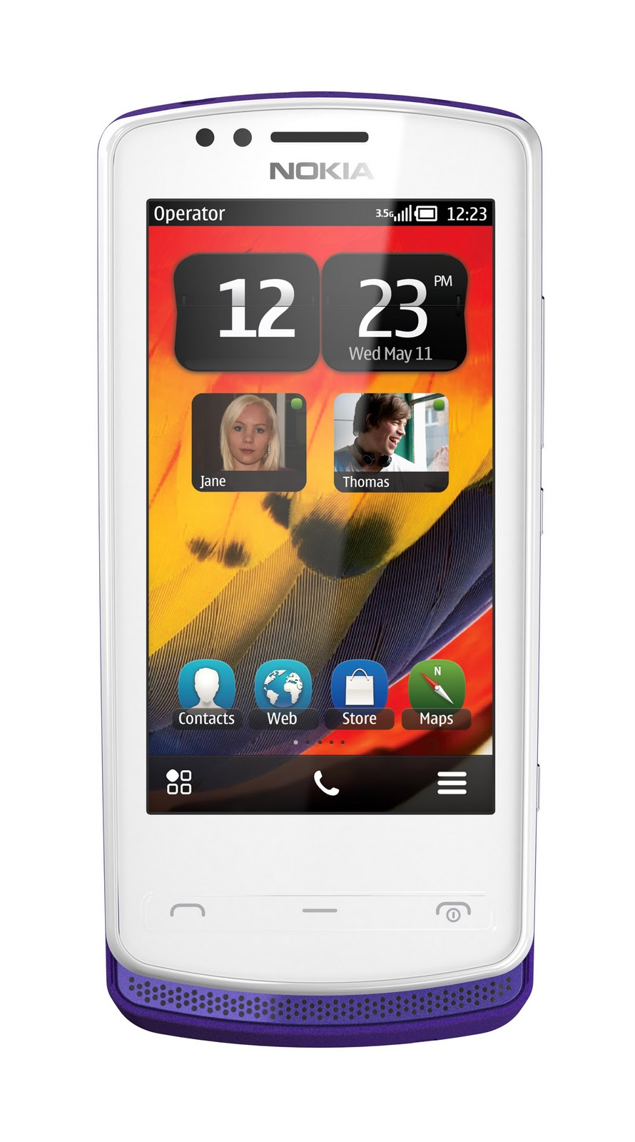 the little red blogging dude: Nokia launches two Symbian Belle phones